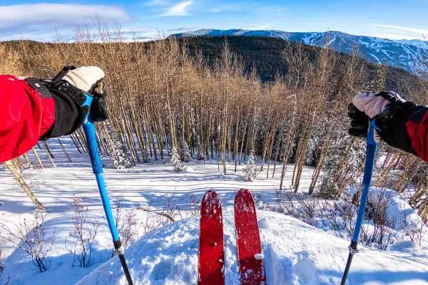 Skier in Beaver Creek